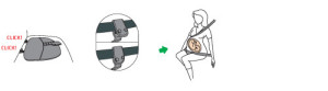 Pregnant_iZi_Fix_installation-with-isofix-and-3-point-car-belt