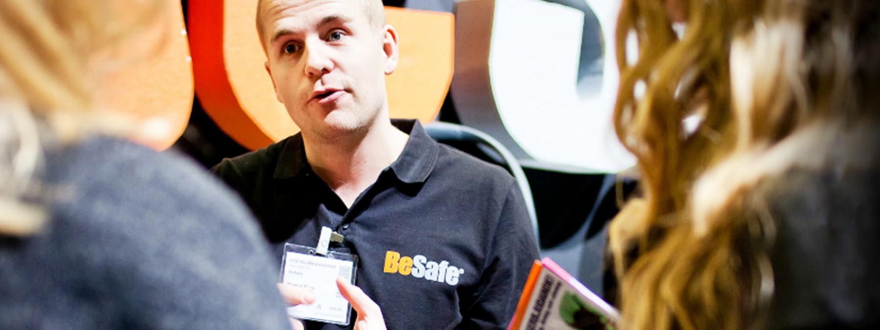 Treffen Sie das BeSafe Team – Messen 2016