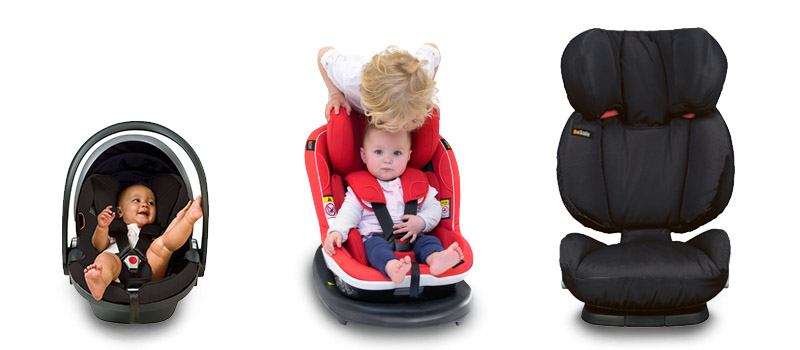 Which car seat for which age? • BeSafe