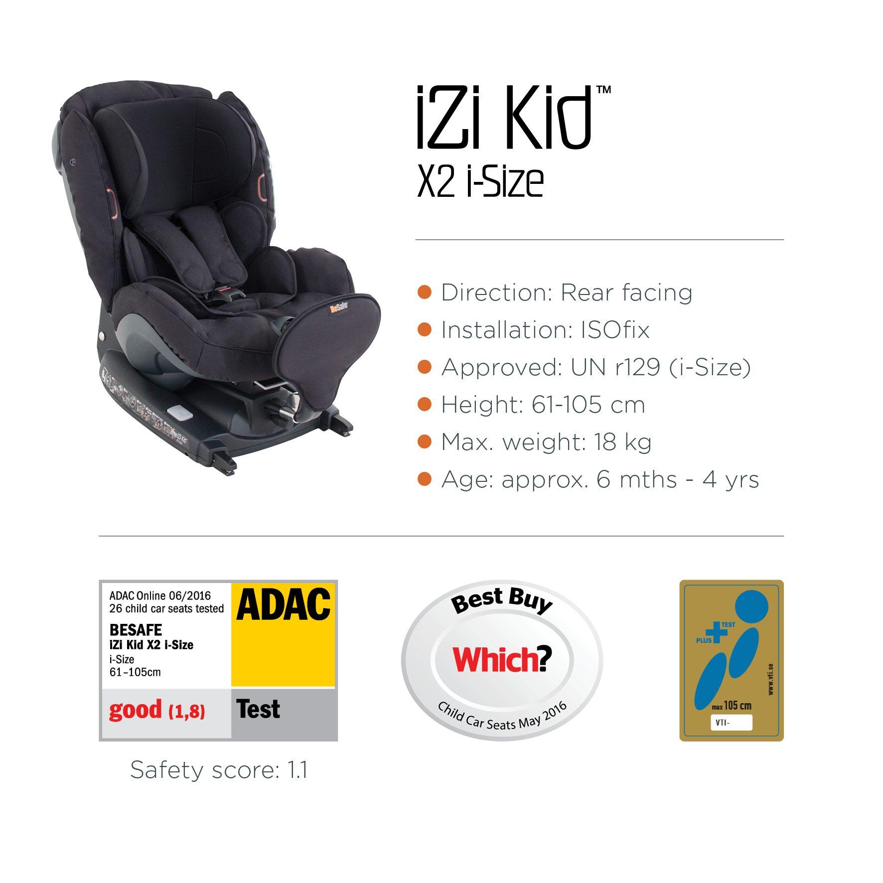Joie Car Seat Yrs Plus