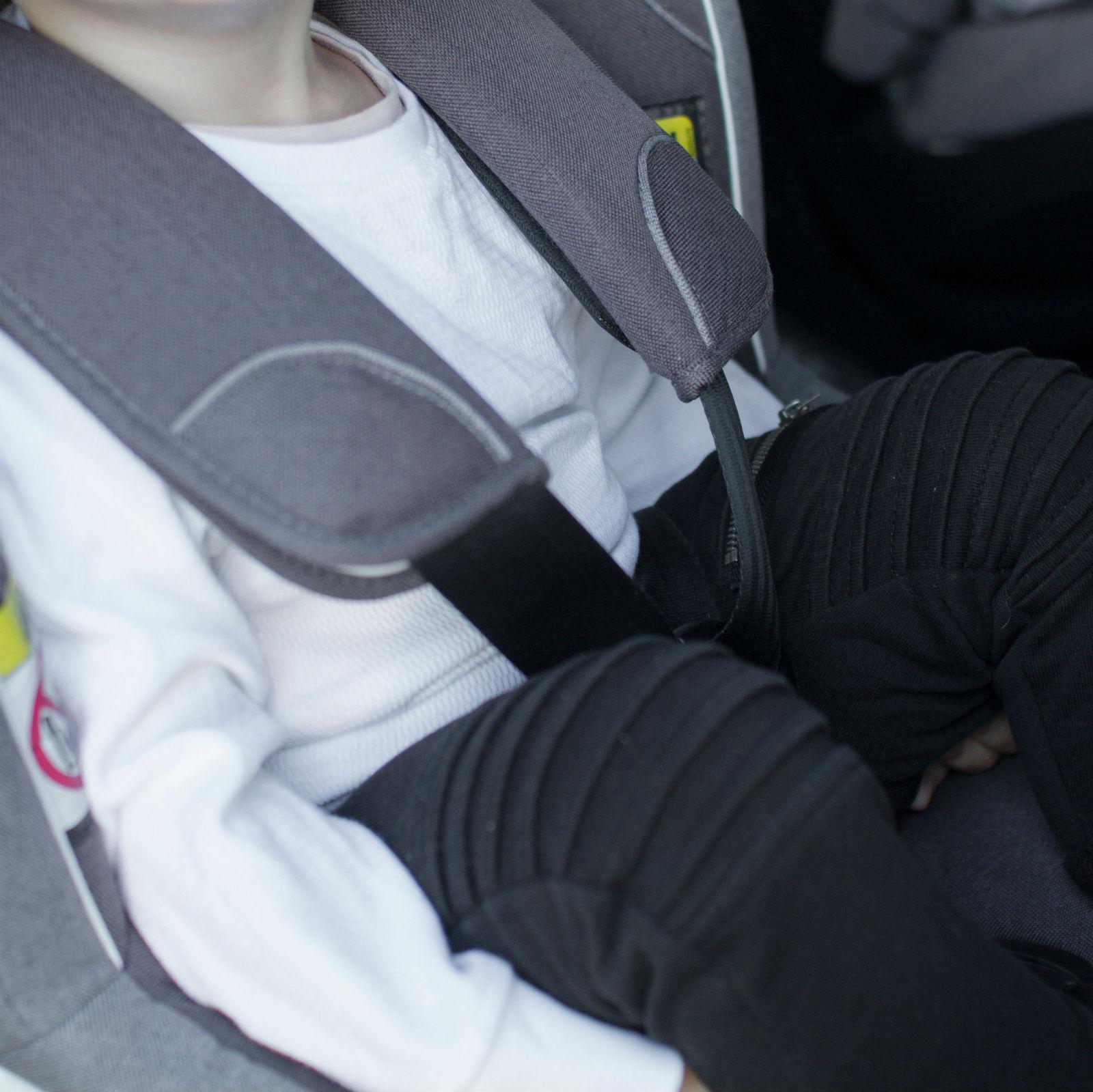 winter jackets in car seats instruction 2