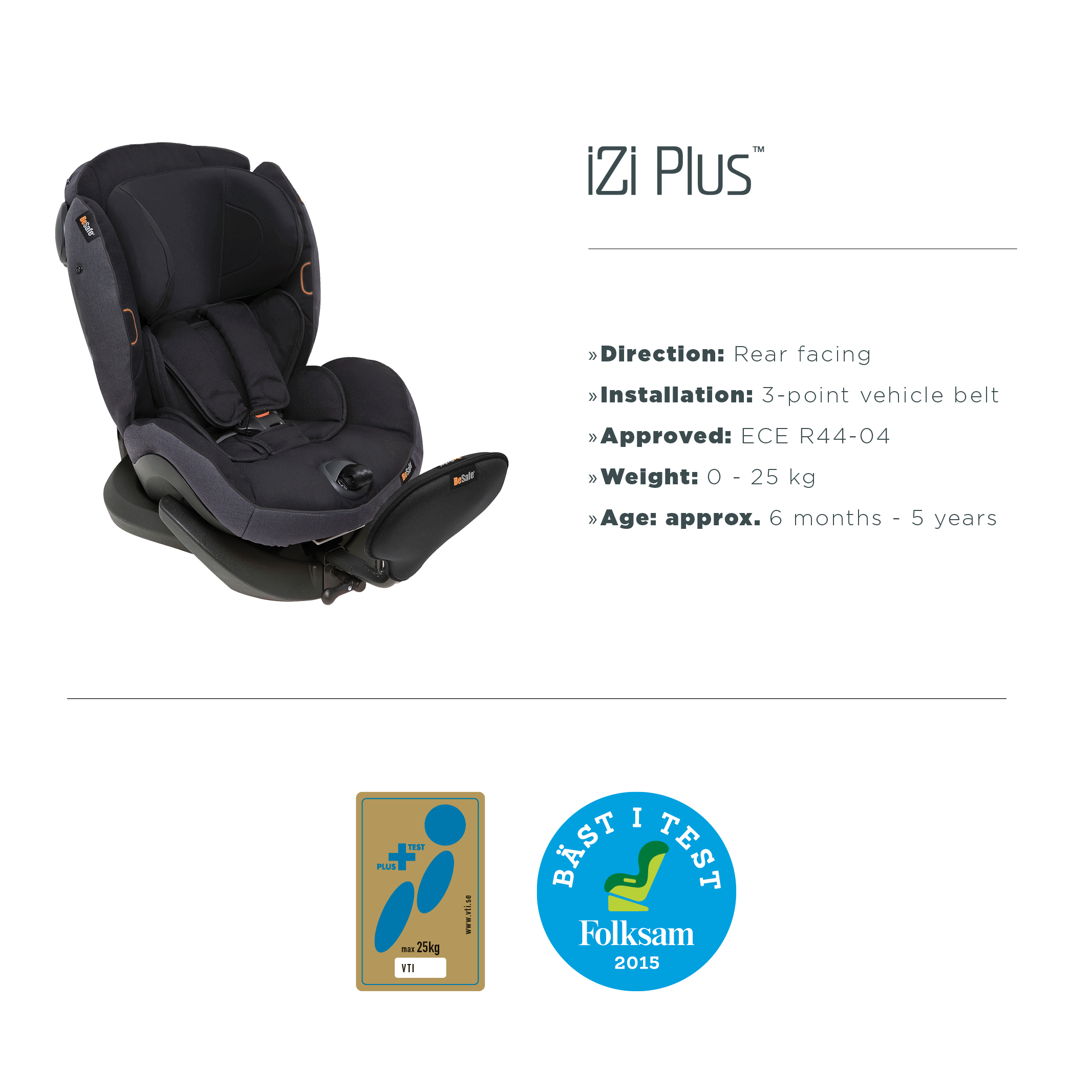 How Did Besafe Child Car Seats Perform In Crash Tests