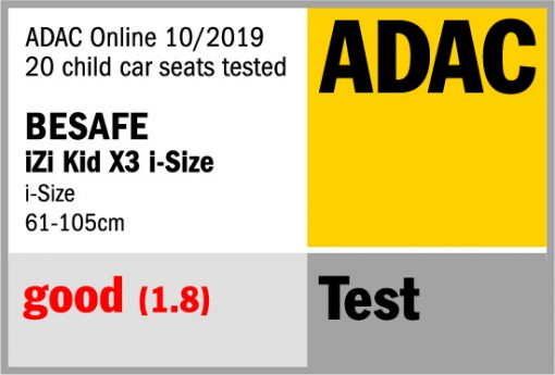 adac logo besafe english