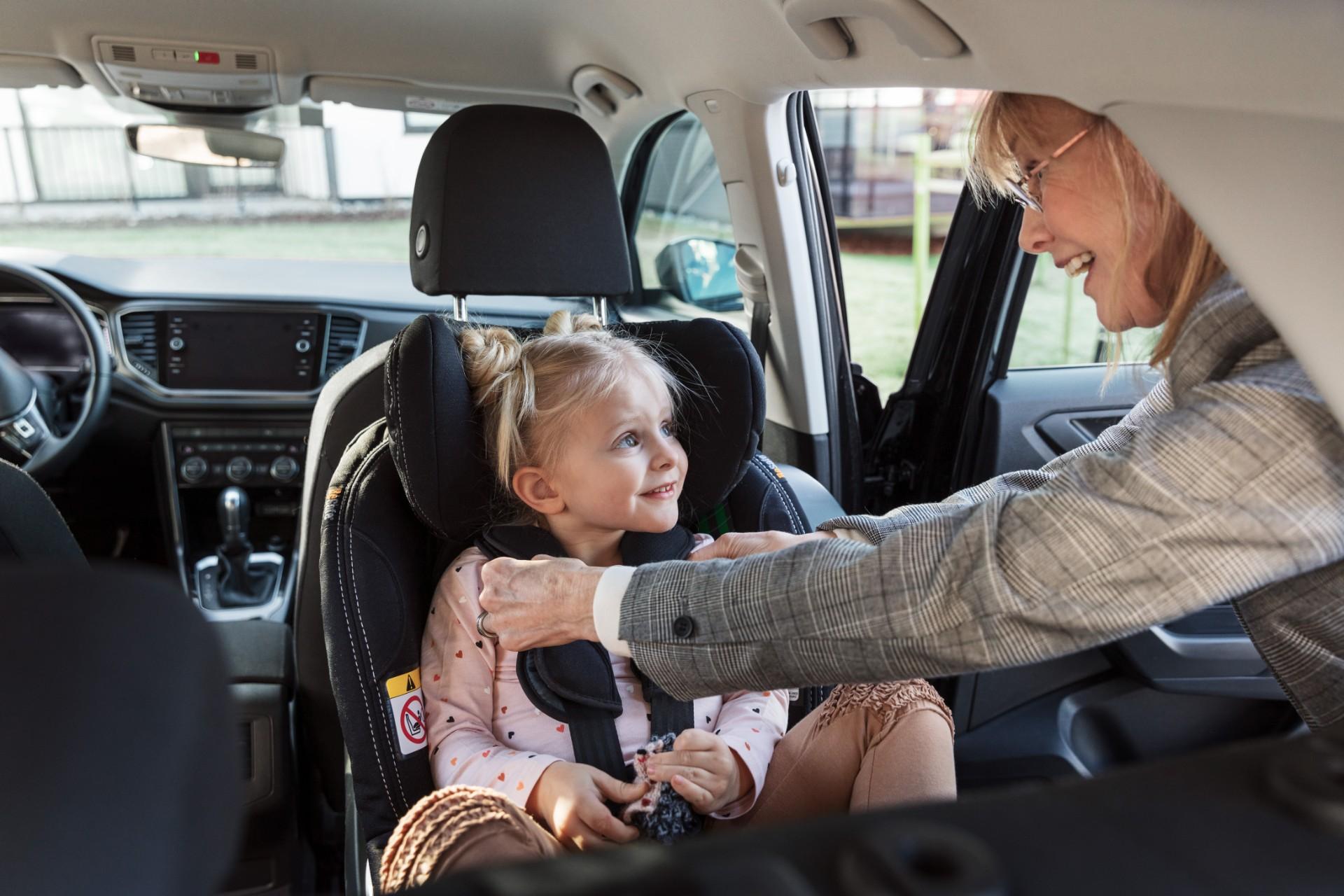 Studie zeigt: fast 50% aller Kleinkinder sind nicht ordnungsgemäß angeschnallt