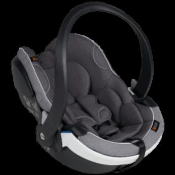 Produktbild på babyskyddet BeSafe iZi Go Modular X1 i-Size i färgen Metallic Mélange.